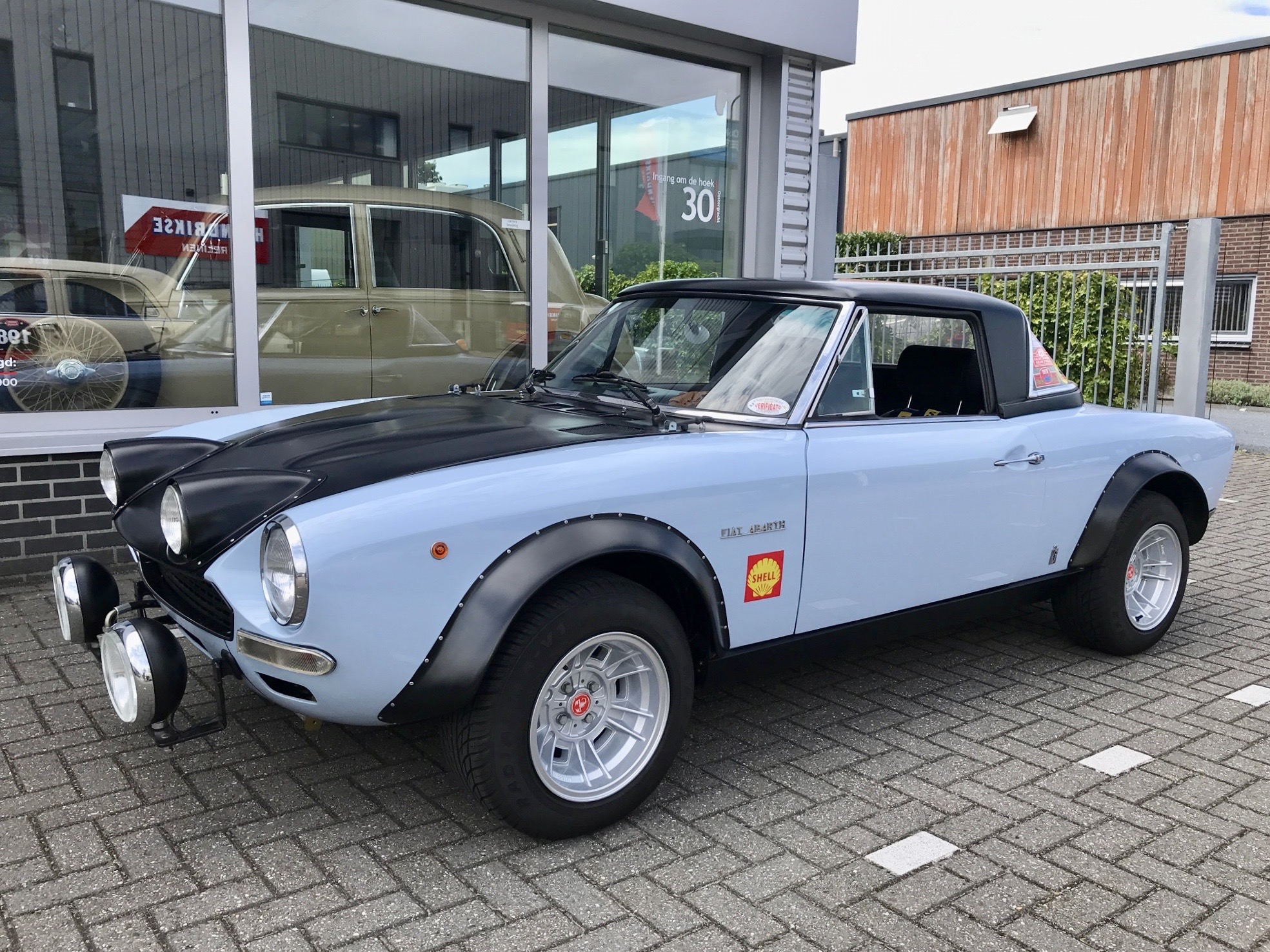 FIAT 124 SPIDER CS GROUP 4 (ABARTH) for sale