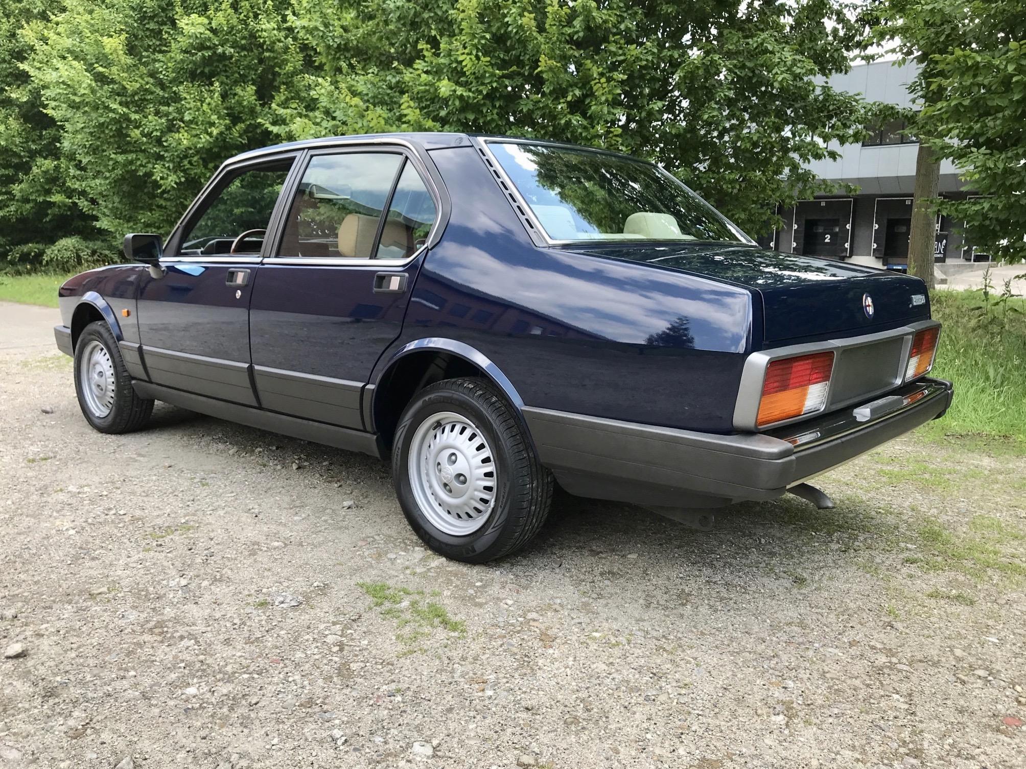 for sale Alfa Romeo Alfetta 2.0 Lusso 1984