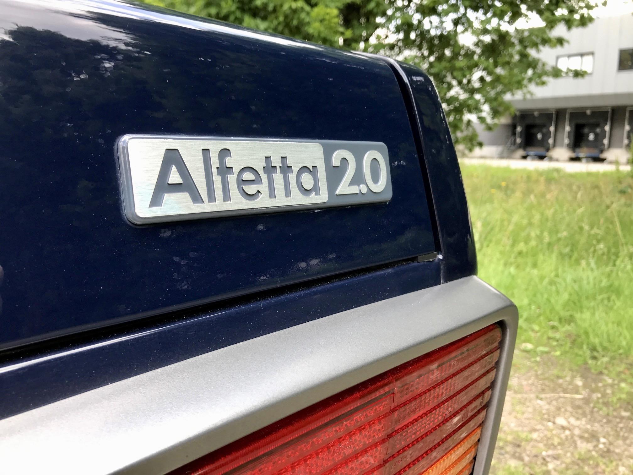 Alfa Romeo Alfetta 2.0 Lusso 1984 1