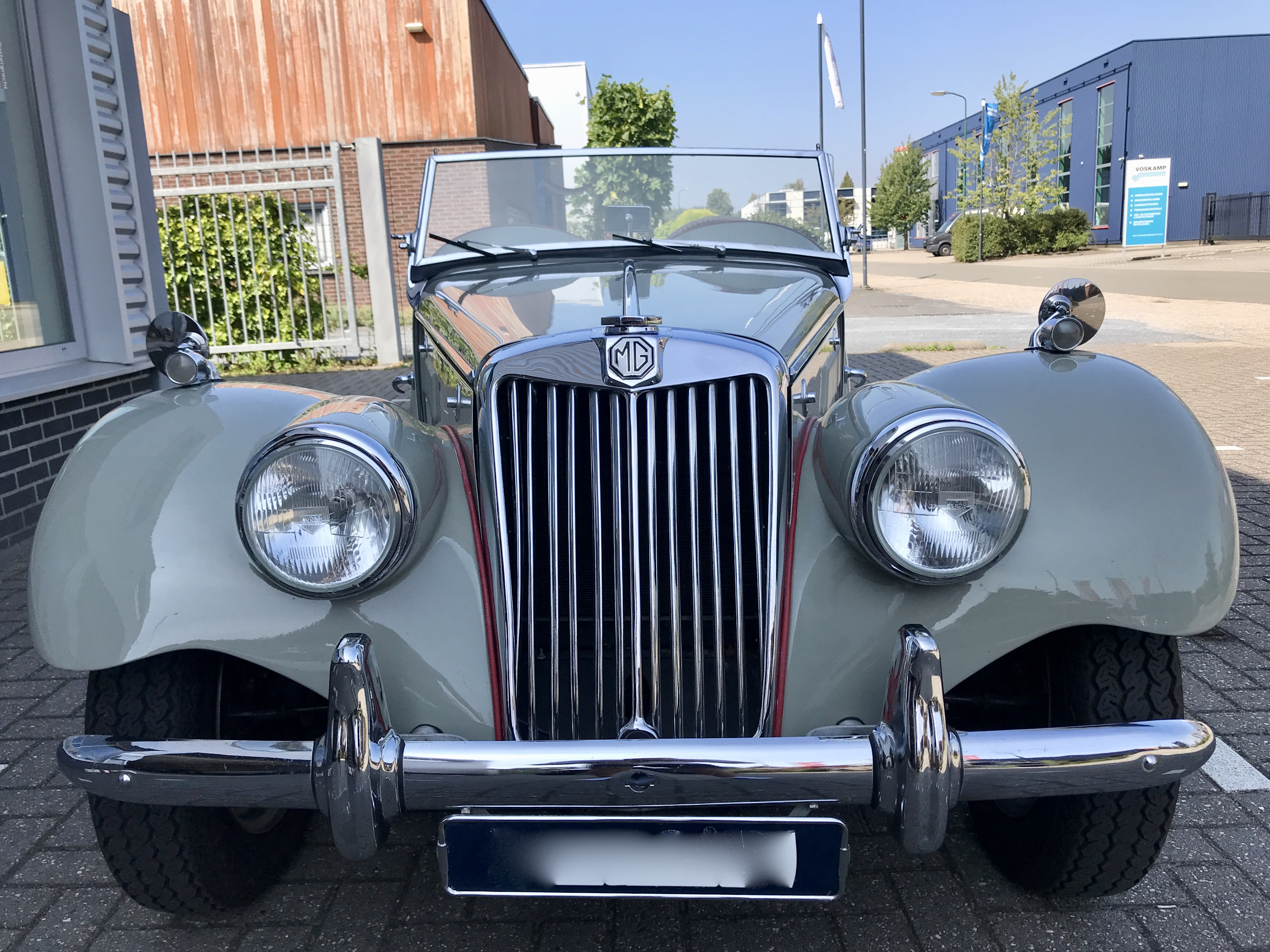 Mg Tf for sale by via marco classic car collection