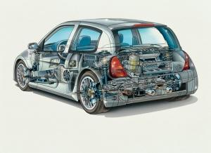 Renault Clio V6 2001 (phase 1)