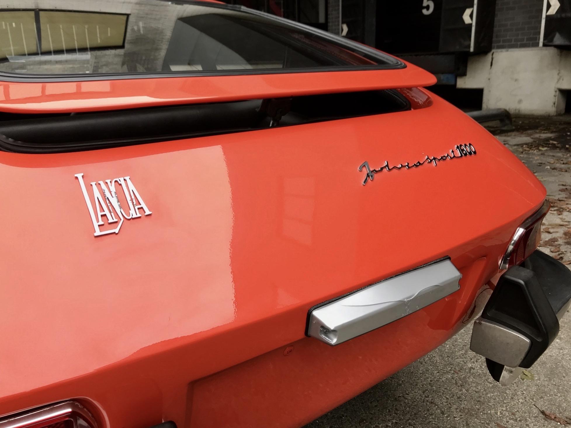 Lancia Fulvia Sport 1600 Zagato 1973